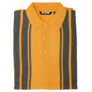 Knitted Polo Shirt - Folded